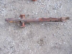 Case Vac Tractor 3pt Hitch Right Main Eagle Hitch Bottom Lift Arm W Rope