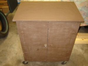 Utility Cart Rubbermaid Push Custom Made Microwave Stand