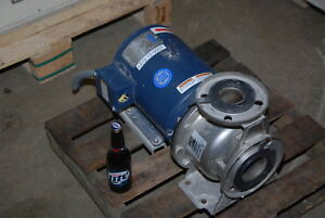 Ebara 7 5hp A3u 50 12575d3c Stainless End Suction Centrifugal Pump Inv 26684