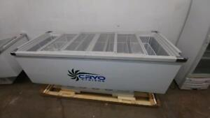 Cryo Systems Chest Freezer With Inside Basket