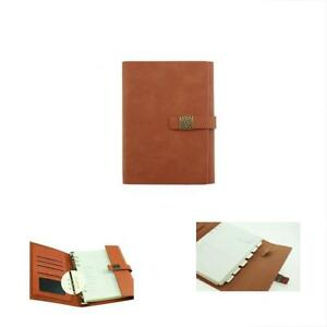 Planner Accessories A5 Refillable Notebook Stylish Personal Organizer Paper
