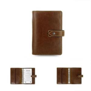 Personal Organizers Weekly Daily Planner Malden Ochre Size Leather Agenda 2019