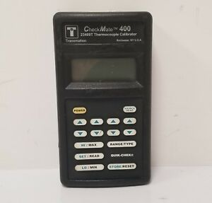 Transmation Checkmate 400 Thermocoupler Calibrator 23409t