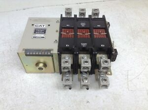 Cat 611353 Transfer Switch 300 Amp 480 600 Vac 64793 Mac dt Double Throw