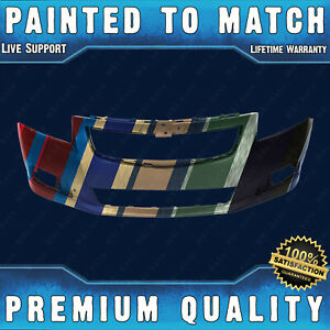 New Painted To Match Front Bumper Fascia For 2011 2014 Chevy Cruze Lt ltz Rs