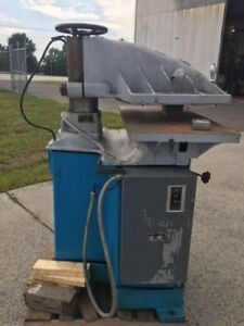 Clicker Die Cutter Press Us Shoe Machinery 15 Ton reduced