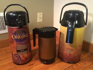 Starbucks Coffee Dispenser Lot Commercial Reataurant Coffee Pot Cafe