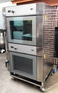 Wiesheu B04 em Bakery Restaurant Equipment Double Stack Convection Steamer Oven