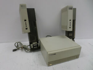 Hp Agilent 7673 Autosampler Controller And Two 7673 Series Automated Injectors