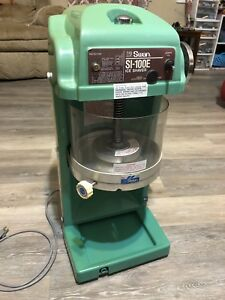 Swan Ice Shaver Si 100e Shaved Ice Machine Commercial Great Money Maker Nice