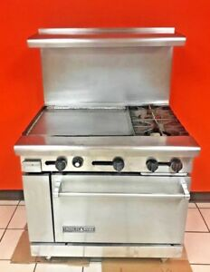 American Range Commerical Natural Gas 36 Griddle