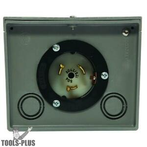 Generac 6338 Generator Power Inlet Box 50 Amp Twistlock Non metallic New