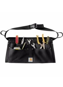 Carhartt Duck Nail Apron Black Unisex Work Tool Belt Four Pocket