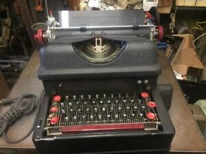 I B M Antique 1930s First Electric Typewriter Rare Collectors Item