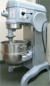 Hobart 30 Qt Dough Mixer Wit Bowl Attacment Vol 120