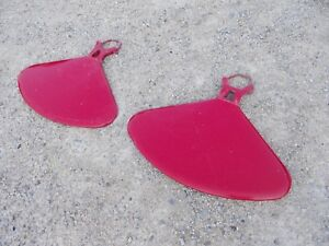 Farmall C Sc 200 Tractor Straight Original Ihc Fenders W Mounting Axle U Bolts