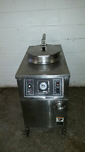 Bki Alf f48 Electric Auto Lift Chicken Fryer Filtration Deep Fat Tested 208 Volt