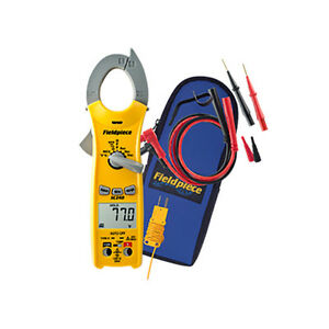 Fieldpiece Sc240 Compact Clamp Meter With Temperature Capacitance
