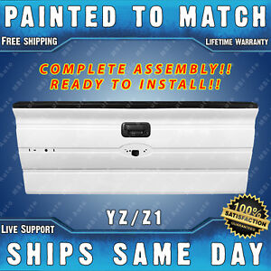 New Painted Yz Z1 White Tailgate Assembly For 2009 2014 Ford F150 Without Step