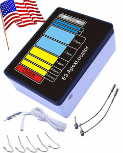 E3 Dental Apex Locator Endodontic Root Canal Finder Teeth Apical Lcd Screen Colo