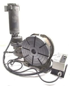 Troyke 12 Motorized Rotary Table W Variable Speed Control u 12 p