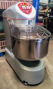 New Lp Group Vis r 80 80kg 176lbs Spiral Dough Bakery Food Mixer With Fixed Bowl