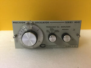 California Instruments 800t 30 20 Hz To 20 Khz 3 Ph Oscillator Module Tested