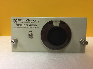 Elgar 431v 300 To 500 Hz 0 25 Acc Frequency Oscillator Module Tested
