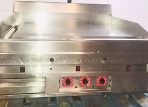 Magikitch n Mkg 36 36 Gas Griddle W Snap Action Thermostat