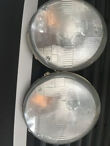 Used Bosch Porsche 911 Headlight Lenses Left And Right