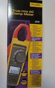 Fluke 373 True Rms 600v Ac dc Clamp Meter New