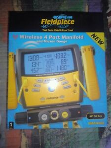 Fieldpiece Sman460 Wireless Digital 4 port Refrigerant Manifold Gauge Brand New