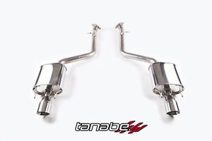 Tanabe T70170a Medalion Axle back Exhaust Fits 2013 2016 Lexus Gs350 F sport
