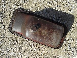 International 340 Utility Ih Tractor Engine Motor Oil Pan