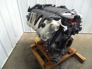 11 12 Porsche Cayenne Engine Gasoline 4 8l Motor Vin B 5th Digit 452856