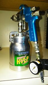 Sharpe 998 Pressure Feed System Spray Gun Made In Usa Mint