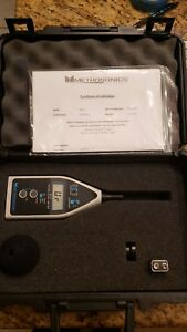 Metrosonics Db 210 Sound Level Meter W Manual Quest