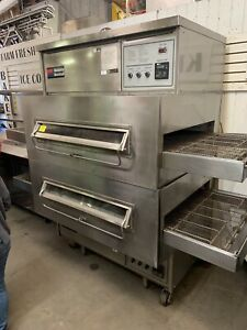Middleby Marshall Ps360s Double Stack Conveyor Pizza Ovens Gas