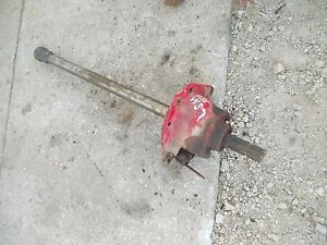 Farmall Sm Super M Mta Smta Tractor Ih Ihc Pto Assembly Power Take Off Shaft