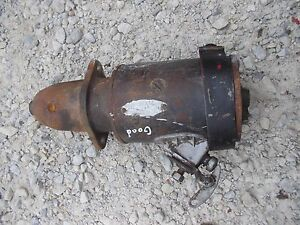 Farmall C Sc A Sa Ih Tractor Original 6v Good Working Starter Assembly