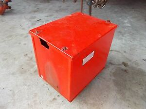 Allis Chalmers C Ca B Tractor Replacement Ac Battery Box Assembly W Lid