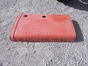 Unstyled Allis Chalmers Wc Tractor Original Engine Motor Hood Cover Ac