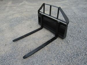 Asv Terex Rc30 Rt30 Mini Skid Steer 42 Pallet Fork Attachment Ship 199