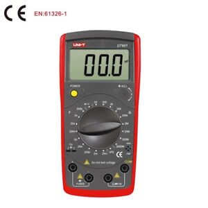 Unit Ut601 Digital Inductance Multimeter Capacitor Tester Ohmmeter Diode Measure