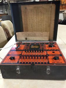 Westinghouse Battery And Tube Tester Vintage