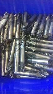 31 Lbs Scrap Carbide Used Good For Re sharpining