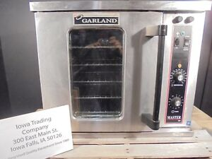 Garland 1 2 Size Convection Oven Mco E5c Electric 1or3 Phase 1750 Nice