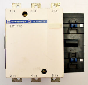 Schneider Electric Lc1 F115 3 Pole Non reversing Magnetic Contactor