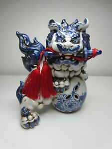 Japanese Foo Dog Toyo Made In Japan Lots Of Character