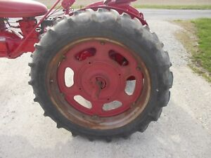 Firestone 11 2 X36 Field Road Tractor Tires 95 Tread Farmall Ih Sc C 200 Rims